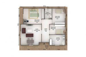 102 m2 Plan A
