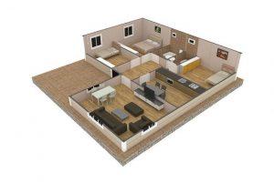 107 m2 Plan B