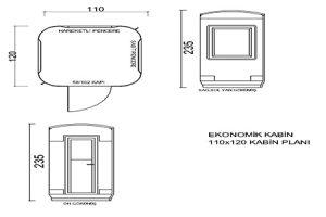 110X120 Fiberglass Security