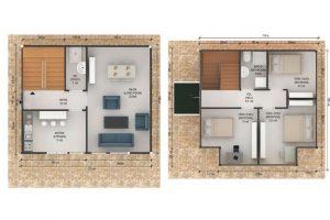 114 m2 Plan B