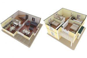 124 m2 Plan A