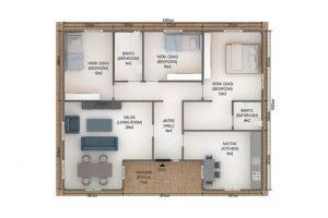 126 m2 Plan A
