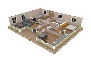 126 m2 Plan B