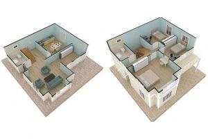 132 m2 Plan A