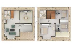 132 m2 Plan B