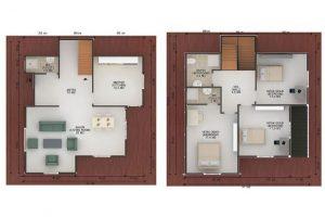 147 m2 Plan B