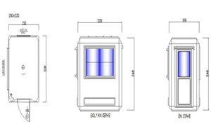 150X220 - Fiberglass Security