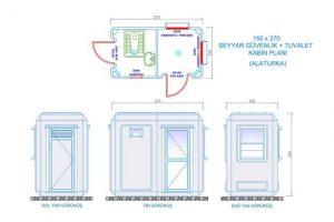 150X270 - Fiberglass Security & WC