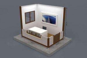 200 x 300 Metropol Container Plan