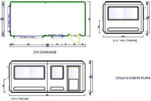 270 X 510 - Fiberglass Security & Buffet