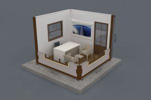 300 x 300 Metropol Container Plan