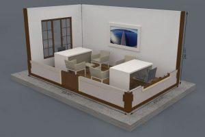 300 x 500 Metropol Container Plan