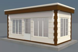 300 x 600 Metropol Container
