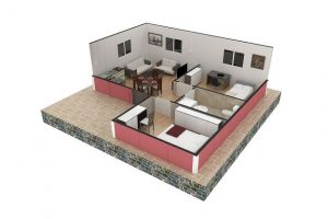 45 m2 Plan B