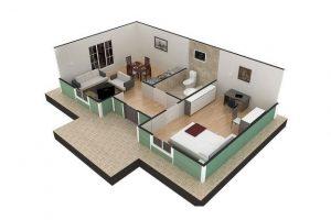 51 m2 Plan B