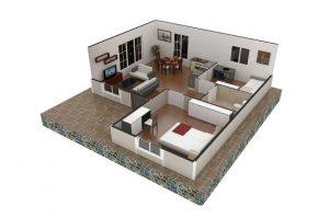 61 m2 Plan A