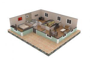86 m2 Plan B