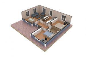 87 m2 Plan B