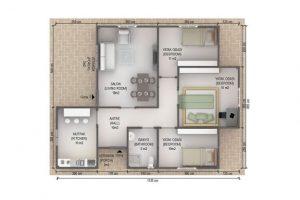 88 m2 Plan A