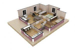 88 m2 Plan B