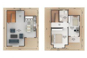 91 m2 Plan B