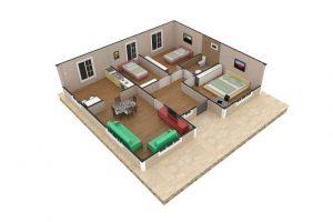 94 m2 Plan B