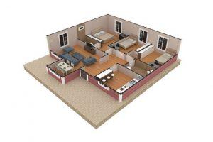 96 m2 Plan B