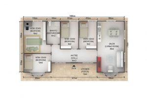 97 m2 Plan A