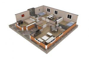 98 m2 Plan B