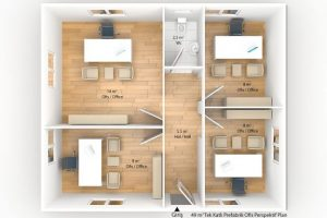 49 m2 Prefabricated Office