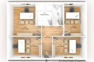58 m2 Prefabricated Office